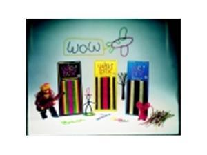 Wikki Stix Wax Set - Assorted Neon Colors, Set - 48