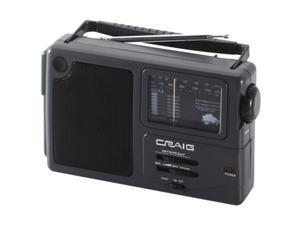 Craig Electronics Inc CR4181W Portable AM & FM Weather Band Radio