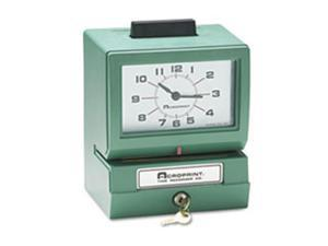 Acroprint Time Recorder 012070400 Model 150 Analog Automatic Print Time Clock with Day-1-12 Hours-Minutes