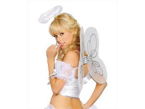 Roma Costume 14-4460-AS-O-S Angel Wings, One Size