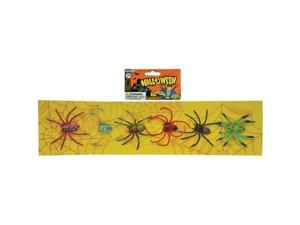 MorrisCostumes SS93193S Spiders Strip Of 6