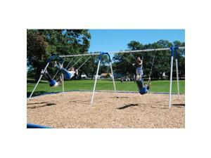 Kidstuff Playsystems 40806 6-Place Bipod Swings- 8 ft. High