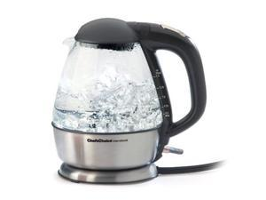 Edgecraft 6800001 680 Cordless Electric Glass Kettle