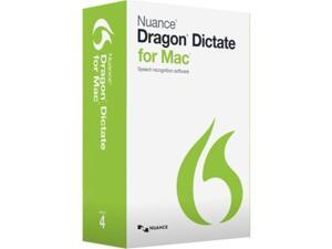 Nuance Communications S601A-G00-4.0 Dragon Dictate 4.0, Eng - Mac X,10.4.9-Dvd Software