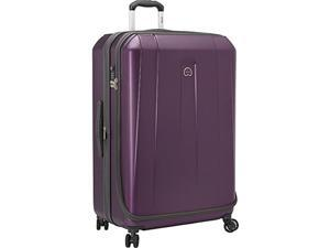 Delsey Luggage 40203583000 Helium Shadow 3.0 29 in. Expandable Spinner Suiter Trolley - Purple