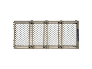 North States 8748 Plastic, Extra Wide Gate, Ivory