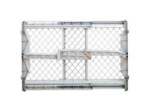 North States 8692 23 in. X 28 in. To 41 in. Pressure Mounted Pet Gate