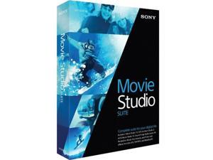 Sony Media Software MSMST13000 Sony Movie Studio 13 Suite - Win Vista,Win 7,Win 8