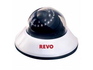 REVO America RCDS700-1BNC 700 TVL Indoor Dome Surveillance Camera with 100 ft. Night Vision