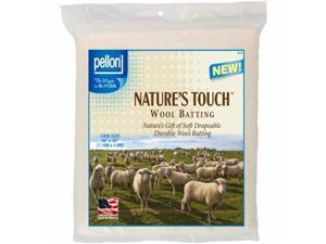 Pellon W-45 Crib Size Wool Batting, 45 x 60 in.