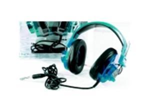 Califone Deluxe Stereo Headset, Blueberry