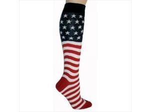 Foot Traffic American Flag Knee High Socks, Pack Of 3
