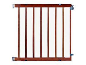 North States 4630 Wood Expandable Stairway Swing Gate