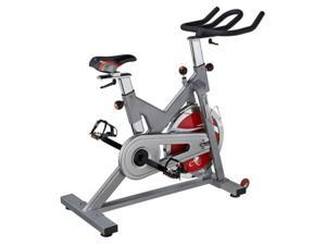 Sunny Health & Fitness SF-B1110S Indoor Cycling Bike Silver