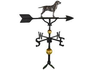 Montague Metal Products WV-360-SI 300 Series 32 In. Deluxe Swedish Iron Lab Weathervane