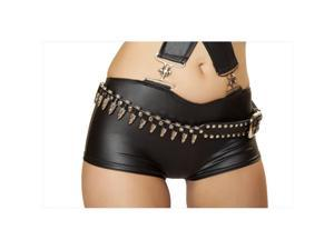 Roma Costume 14-BELT102-AS-O-S Studded Bullet Belt, One Size