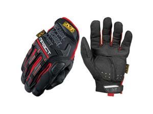 Mechanix Wear MPT52010 M-Pact Glove, Large, Black - Red