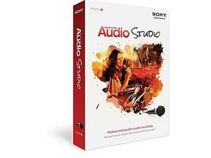 Sony Media Software MSFS10000 Sony Sound Forge Audio Studio 10 - Win Vista,Win 7,Win 8