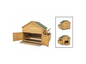 Petmate Doskocil Co Inc 43104 59.5 in. X 40 in. X 46 in. High Capacity Chicken Fort Coop
