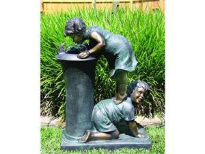 Beckett With A Little Help Fountain 19X9.6X27 Inch 7238910