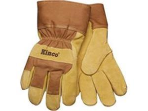 Kinco International 044088 Large Lined Suede Pigskin Glove