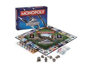 Usaopoly USAMN051383 Jurassic World Monopoly Game