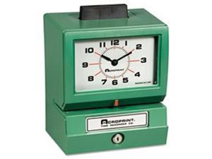 Acroprint Time Recorder 012070413 Model 150 Analog Automatic Print Time Clock with Month-Date-0-23 Hours-Minutes