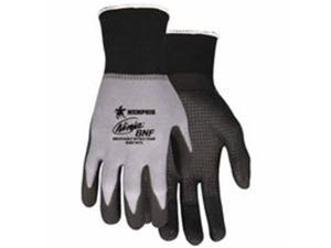 Memphis Glove 127-N96797XS 15 Gauge, Black Breathable Nitrile Foam - Extra Small