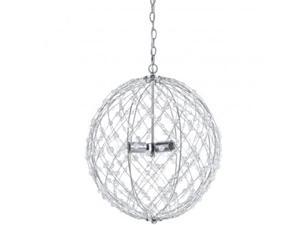 Horizon 8285-3H Silver Web Pendant In Polished Chrome