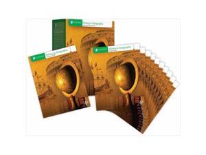 Alpha Omega Publications 680360 Lifepac History & Geography Complet Set Grade 6