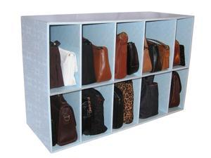 Luxury Living Park-a-Purse / Handbag Holder Heavy Duty Storage Shelf Organizer