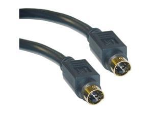Cable Wholesale MiniDin4 (S Video) Male / MiniDin4 (S-Video) Male Gold-plated connector - 6 ft