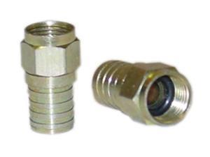 Cable Wholesale RG6 F-Pin Crimpable Connector