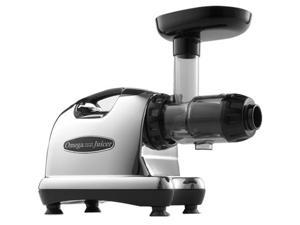 Omega J8006 Nutrition System Masticating Juicer, Chrome