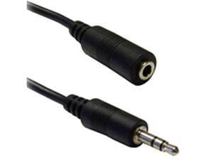 Cable Wholesale 3.5mm Stereo Extension Cable, 3.5mm Male to 3.5mm Female, 6 foot