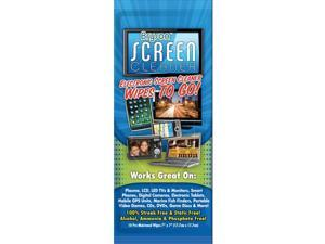 Bryson Citrusafe Screen Cleaner Wipes Item 4 Pack