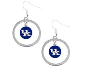 Kentucky Wildcats Hoop Logo Earring Set Ncaa Charm