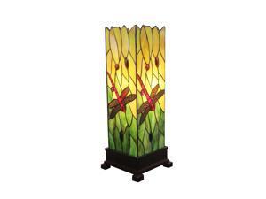 "Amora Lighting Tiffany Style AM024TL05 18"" Dragonfly Table Lamp"
