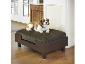 Mission Hills Wooden Platform Pet Dog Bed