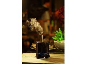 Sunpentown Ultrasonic Aroma Diffuser/Humidifier with Ceramic Housing - Black