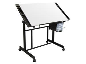 Studio Designs Deluxe Craft Station - Black/White