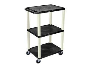 """Offex 42"""" Black Tuffy Utility Cart With Electric"""