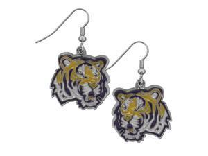 NCAA LSU Tigers Chrome Dangle Earrings