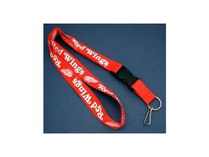 Detroit Red Wings Lanyard - Color Red
