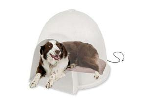 "K&H Pet Products Lectro-Soft Igloo Style Bed Large 17.5"" x 30"" 60 watts"
