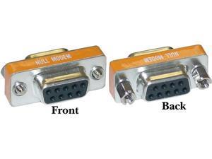 Cable Wholesale Mini Null Modem DB9 Female / DB9 Female, Adaptor