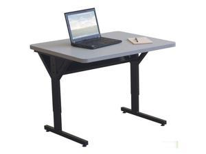 "Balt 60"" Brawny Home Office Computer Laptop Table Furniture - Gray"