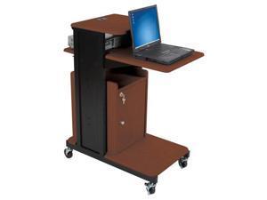 Balt Cabinet For EXtra Long Presentation Cart  - Cherry
