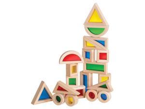 GuideCraft Kids Jr. Rainbow Blocks Activity Play Building Set 20 Piece