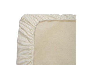 Naturepedic Organic Cotton Ivory Sateen Crib Sheet - SC50I